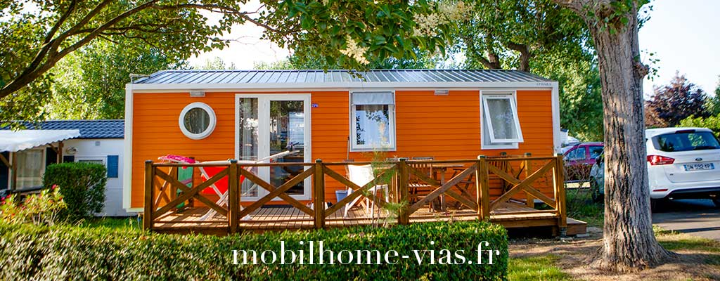 Location mobil home Vias